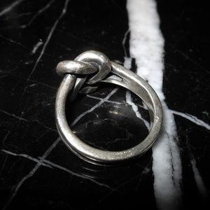 James Avery Jewelry - James Avery 925 Sterling Silver Knot Women Ring Re